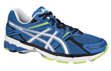 Asics Men's GT-1000 blue/white/neon yellow